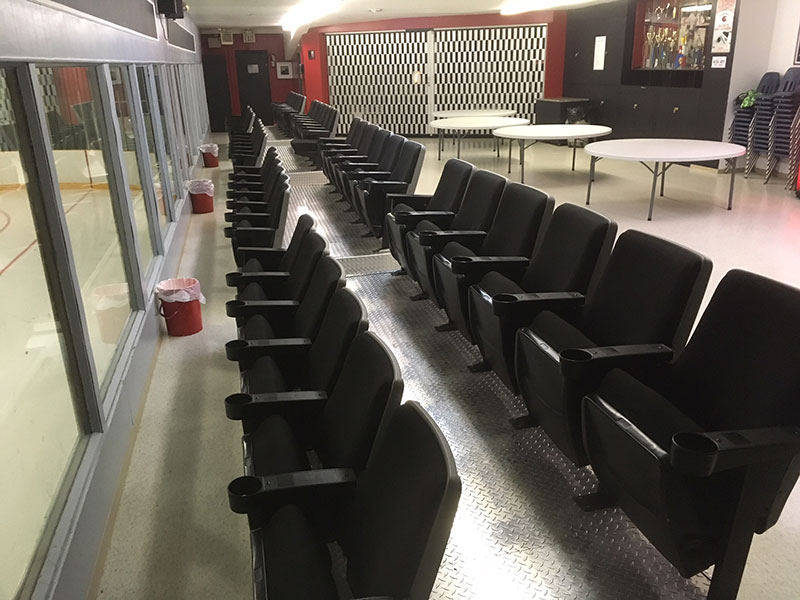 Elkhorn Arena Seats